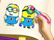 Mini Coloring Book