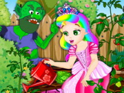 Princess Juliet Garden Trouble