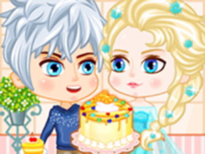 Play Elsas Birthday Cake Online For Free