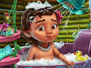 Moana Baby Shower Care